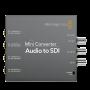 Mini Converter Audio to SDI 2 мини конвертер